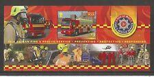 I.o.m 2013 Fire and Rescue minisheet SG, ms1811 UM/m N/H LOTTO r161