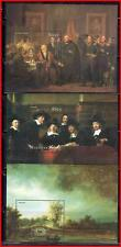 DUTCH PAINTINGS (MOSTLY REMBRANDT)  x5 S/S MNH (K-J18)