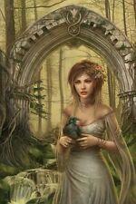 "Alchemy póster ""cris ortega Mystic Arch"""