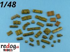 1/48 Military Scale Modelling Resin Stowage Diorama Accessories Kit 3