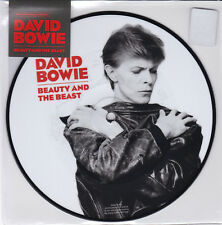 "BOWIE DAVID BEAUTY AND THE BEAST VINILE 7"" PICTURE DISC NUOVO"
