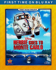 Disney Volkswagen Bug Herbie Goes to Monte Carlo Family Comedy on Blu-ray