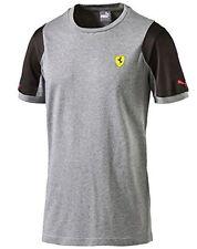 Puma Ferrari Men's Scuderia Ferrari Tee Gray