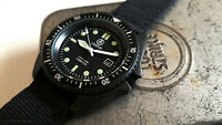OfCOOPER SUBMASTER BLACK SBS MILITARY DIVER WATCH DIVE VINTAGE NEW - OLD STOCK N