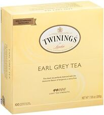 Twinings Tea, Earl Grey, 100 Count, New, Free Shipping