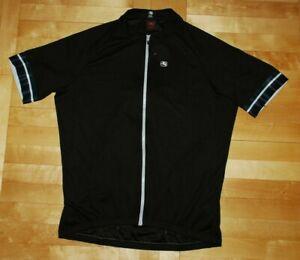 Giordana Ride Fit Cycling Shirt Jersey Road Mtb Black Mountain Bike XXXL 3XL