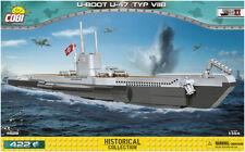 COBI U-boot U-47 Type VIIB (4828) - 422 elem. - WWII German attack submarine