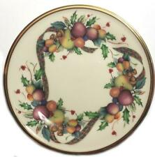 Lenox Holiday Tartan Bread Plate Excellent Condition Multiples Available