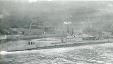 ORIGINAL PHOTO  - HONG KONG - ROYAL NAVY - HMS L4 SUBMARINE  - 1927