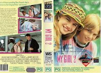 MY GIRL 2 - Aykroyd / Curtis - VHS -PAL -NEW -Never played! -Original Oz release