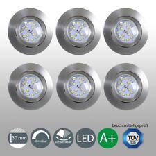 Einbau-Strahler Spots LED dimmbar ultra-flach Einbau-Lampe Leuchte Deckenleuchte