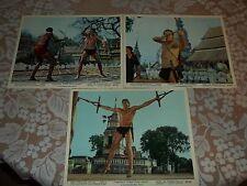 Vintage Tarzan Photos From Tarzan's Three Challenges 1963