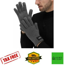 Gloves Touch Screen Winter Warm Outdoor NonSlip Wool Lining Phone Texting Finger