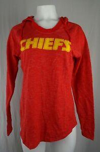 Kansas City Chiefs NFL Majestic Women's Scoop Neck Hoodie