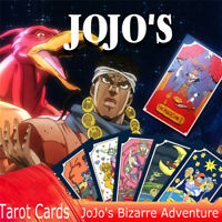 JoJo's Bizarre Adventure Tarot Card Kujou Jotarou Japan Anime 31 Cards Box Gift