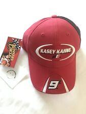 2007 nwt NASCAR Kasey Kahne  #9 Budweiser Racing PIT HAT CAP Red Winners Circle