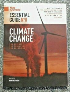 NEW SCIENTIST MAGAZINE ESSENTIAL GUIDE #8 ~ CLIMATE CHANGE ~ NEW ~
