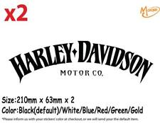 Harley Davidson Stickers 2pcs Reflective Motorcycle Decals Stickers Best Gift
