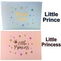 Baby Girl or Boy Slip In Photo Album 6x4 Shower Birthday Gift Newborn Keepsake