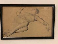 GREINER Otto *1869 Liegender weiblicher Akt TOPP