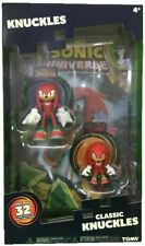 Classic Knuckles 2 Pack Figures with Comic Book