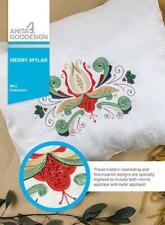 Merry Mylar Anita Goodesign Embroidery Machine Design CD NEW