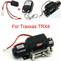 Winch + Remote Control + Receiver for Traxxas TRX4 Axial SCX10 D90 D110 1:10 #UK