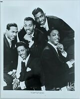 Vintage 1960's Temptations Promo Photo James J. Kriegsmann