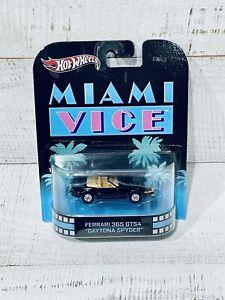 Hot Wheels Retro Entertainment Miami Vice Ferrari 365 GTS4 Daytona Spyder New