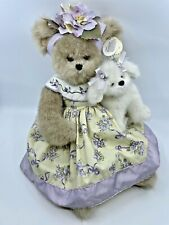"Bearington Bears ""Patrice & Puff ""16"" Collector Bear #1640  Dog 2006"