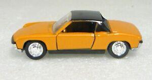 Schuco Modell 826, VW-Porsche 914 S, orange, 1/66, NEU&OVP