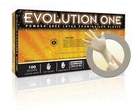 Ansell MicroFlex Evolution One Powder-Free Latex Exam 100 Gloves Large EV-2050-L