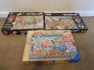 Wasgij Jigsaws Bundle #1