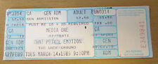 1989 THE PETROL EMOTION SEATTLE CONCERT TICKET STUB MANIC POP THRILL KEEN V2 2