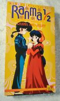 1995 Ranma 1/2 Anything Goes Martial Arts Ranma And Juliet VHS NR #T30