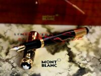 Montblanc Alexander The Great Füller 4810 Fountain Pen Limited Edition 18kt. -M-