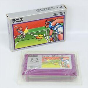 TENNIS Silver Box No Instruction Famicom Nintendo 8384 fc