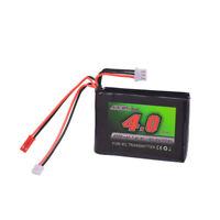 7.4V 4000mAh 8C RC Lipobatterie Akku für Spektrum DX9 DX8 DX7 DX6E Fernbedienung
