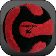 VOLCANO FOOTBAG, 14 panels, Sand & Iron filled hacky sack, freestyle 60 Grams