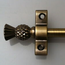 R01PY POLISHED BRASS 3//8 INCH STAIR RODS PYRAMID FINIAL