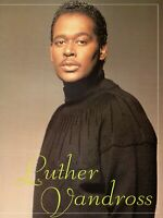 LUTHER VANDROSS 1990 BEST OF LOVE TOUR CONCERT PROGRAM BOOK BOOKLET-NMT TO MINT