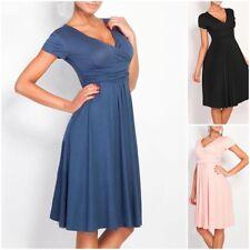 Nursing Schwangere Frauen Sommer Comfy-Mutterschaft-Kleid-Stillen-Casual-Dress