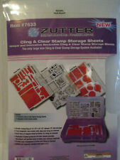 Zutter Cling & Clear Stamp Storage Sheets
