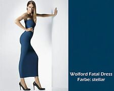 WOLFORD FATAL DRESS • S • stellar  • rundum nahtloses elastisches Schlauchkleid