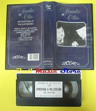 film VHS STANLIO & OLLIO avventura a vallechiara LEGOCART LEG-SO008 (F31) no dvd