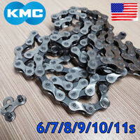 "KMC 6/7/8/9/10/11S 116/118 Links Chain 1/2X3/32"" 11/128"" MTB Road Bike Cassette"