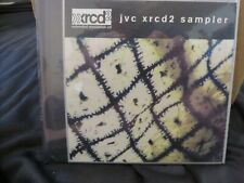 JVC XRCD2 Sampler Audiophile CD 1998 Out of Print Unique RARE-NEW (SEALED)