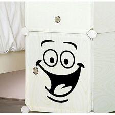 Smiley Wall Big Eyes Decoration Smile Face Sticker Bathroom Kids Home Decor Hot