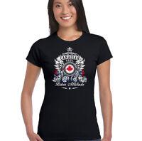 CANADIENSE Soul Motero actitud Mujer Camiseta De Motociclista Motocicleta Moto