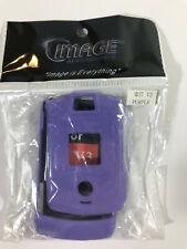 Case for Vintage Motorola Razr V3, Purple